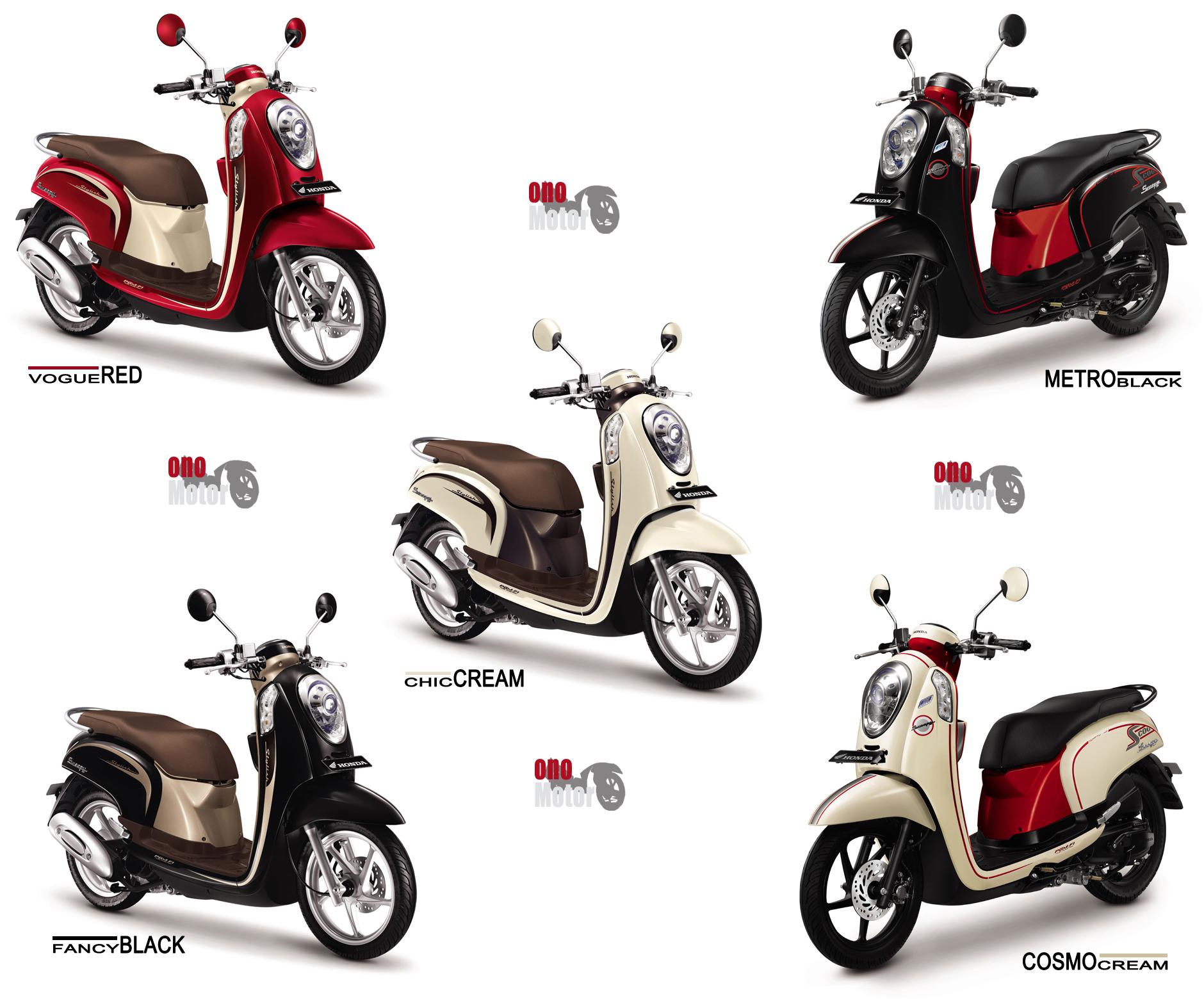 Koleksi Modifikasi Motor Matic Honda Scoopy Terlengkap Kampong Motor