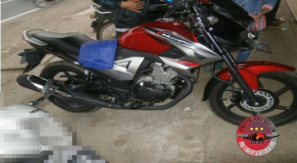 test ride new megapro fi4